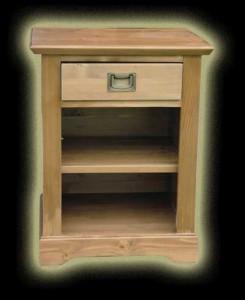 Fenyő Onyx éjjeli szekrény
